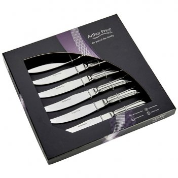 Набор из 6 ножей для стейка дюбарри п/к
