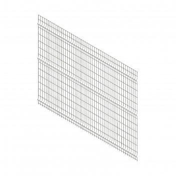 Панельное ограждение преграда 2,7х1,74 м, ячейка 55х235 мм, d прута-3мм