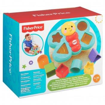 Развивающая игрушка сортер бабочка fisher-price cdc22
