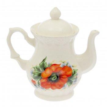 Чайник заварочный монарх, 0,5 л, мак, микс