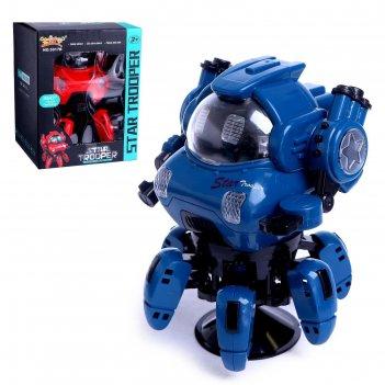 Робот «герой», световые и звуковые эффекты, работает от батареек, микс