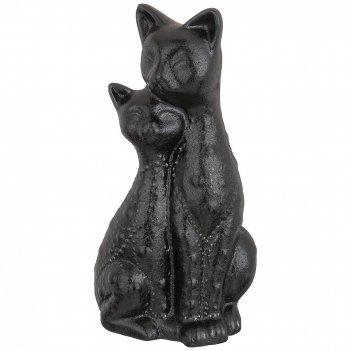 Статуэтка кошечки черно-белая коллекция 12*9*23 см