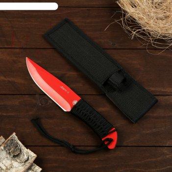 Нож метательный дартс-1 красный