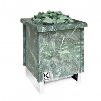 Электрическая печь karina quadro 15, нержавеющая сталь, камень змеевик