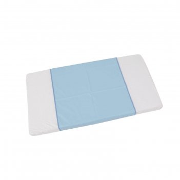 Пеленка-клеенка фея окантованная 68 х 100  см, голубая