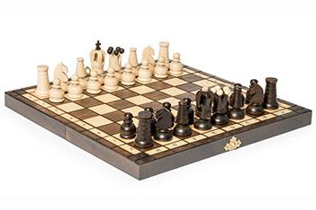 Шахматы королевские польша 31х31см