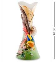 Fm-54 ваза золотой фазан (pavone)