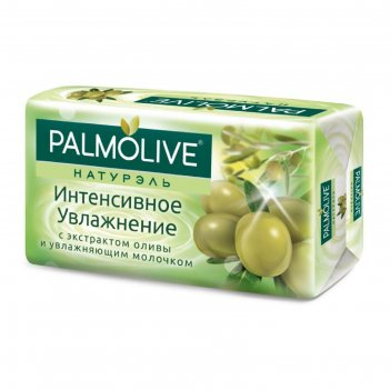 Туалетное мыло  palmolive интенсивное увлажнение, 90 г