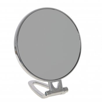 Зеркало настольное двустороннее с увеличением, l15 w12 h17,5 см