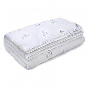 Одеяло стёганое, серия «сова», размер 172х205 см, полиэстер, 200 г/м2
