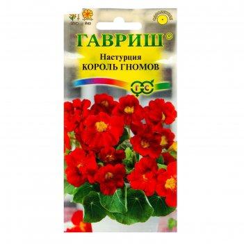 Семена цветов настурция король гномов, о, 1,0 г