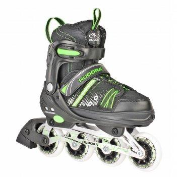 Роликовые коньки hudora rx-21 зелёные
