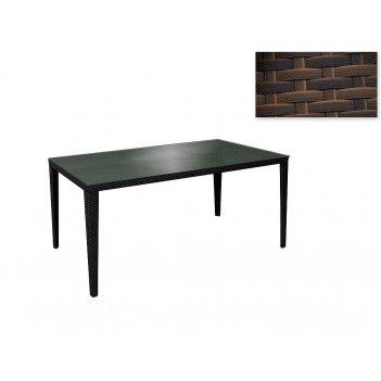 Садовая мебель: стол (150*85*75см. столешница стекло 5мм.) (комплектуется: