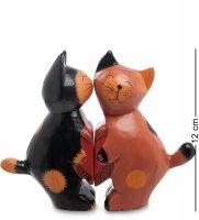 28-022 статуэтка mini кот и кошка сердце, набор 2 шт