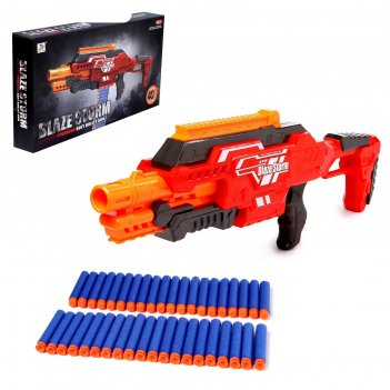 Бластер «тормунд», стреляет мягкими пулями, работает от батареек