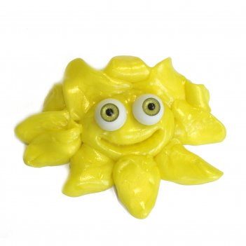 Жвачка для рук neogum monster (неогам монстр) желтый