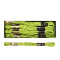 Мулине 10м, (№4706), цвет зелёный