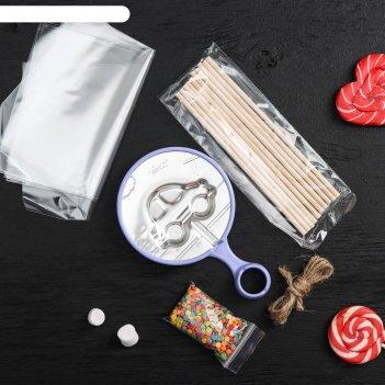 Набор для приготовления леденцов на палочке «машинка»