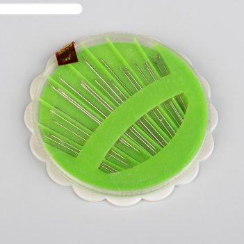 Игла швейная 24шт в пластиковой коробке (фас 25 наб цена за наб) юв