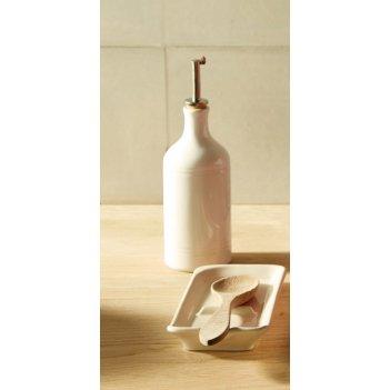 Бутылка для масла и уксуса 7,5 см (цвет: крем) emile henry