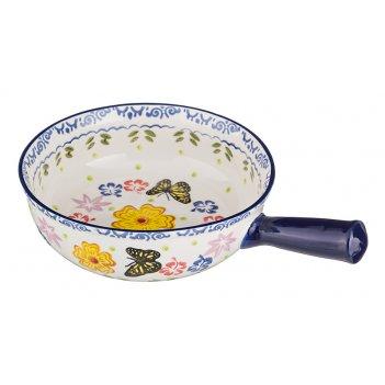 Блюдо для запекания диаметр=19 см. высота=6 см. длина=27см. (кор=12шт.)