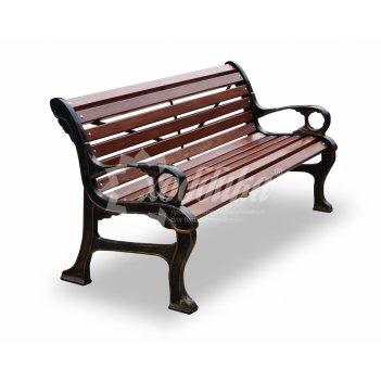 Скамейка садово-парковая «наутилус» кресло