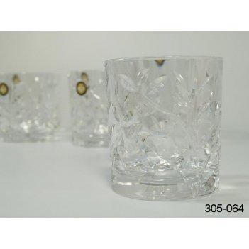 Набор стаканов для виски из 6штлаурус 260 мл.