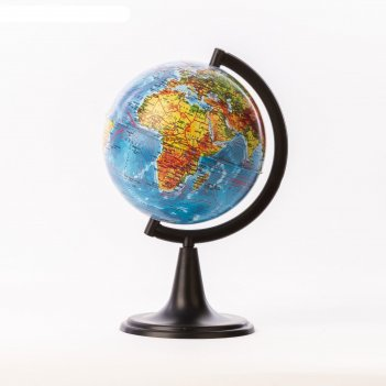 Глобус физический диаметр 120мм классик