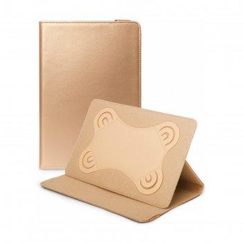 Чехол gresso прайм для планшетов 7-8, цвет золото