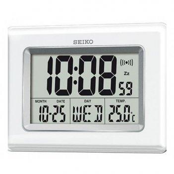 Настольные часы seiko qhl058wn