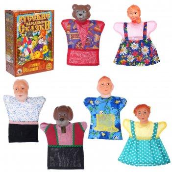 Кукольный театр маша и медведь в новой упаковке