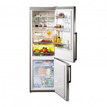 Холодильник gorenje nrc6192tx, класс а+++, объем 222 л, двухкамерный, нерж