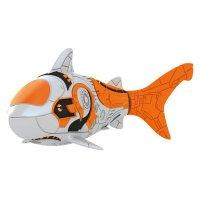 Тропическая роборыбка акула, цвет серый