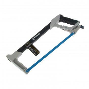 Ножовка по металлу tundra premium двухкомпонентная рукоятка 300мм