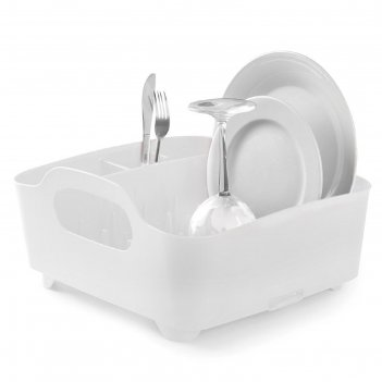 Сушилка для посуды tub, белая