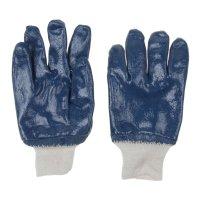 Перчатки рабочие х/б с нитриловым обливом ( 10 размер)