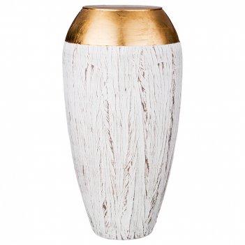 Ваза fidelis gemma gold  высота 37см