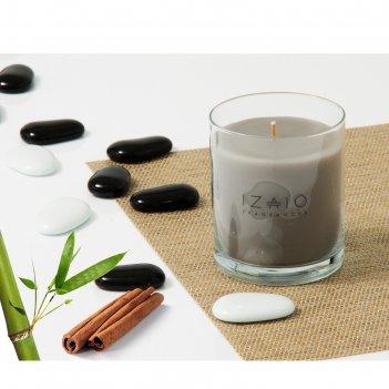 Свеча ароматическая бамбук и пряности