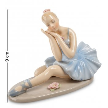 Cms-19/16 фигурка балерина (pavone)