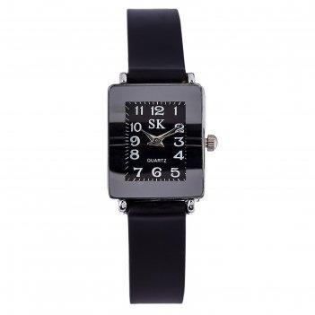 Часы наручные женские берни, ремешок из экокожи, d=2 см, микс