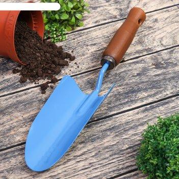 Совок посадочный с деревянной ручкой