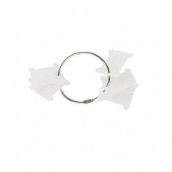 Пластиковые бобинки для мулине с металлическим кольцом