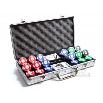 Набор для покера 300 фишек starter 8гр