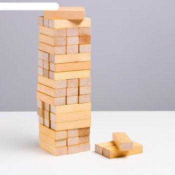 Логический игровой набор башня классика ( 54 дет.)