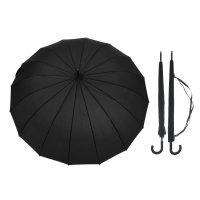 Зонт-трость мужской, r=57см, чёрный
