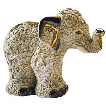 Статуэтка de rosa азиатский слон