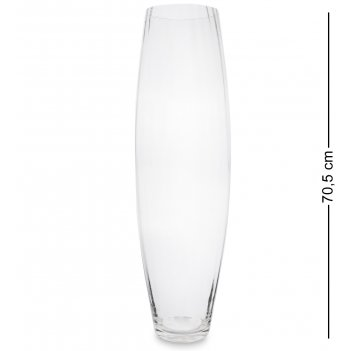 Nm-21700  ваза стеклянная 70,5 см (неман)
