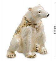 Jb-30 шкатулка белый медведь