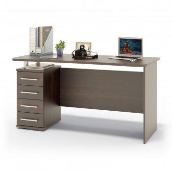 Компьютерный стол, 1400 x 600 x 750 мм, цвет венге