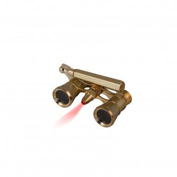 Бинокль levenhuk broadway 325n лорнет с подсветкой, золотой